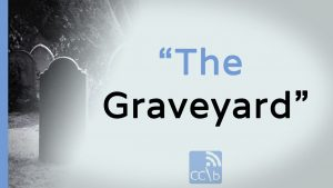 The graveyard Blog Thumb